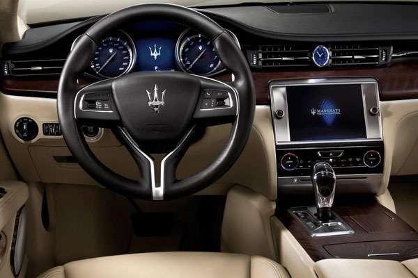 Maserati Quattroporte 2013 фото салона