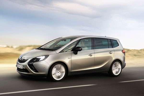 Opel Zafira тест-драйв