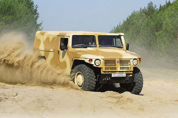 Автомобиль Тигр ГАЗ-2330 (фото-2)