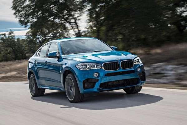 тест-драйв BMW X6 M