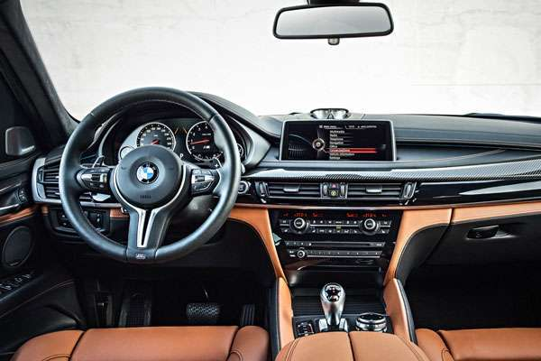 Фото салона BMW X6 M