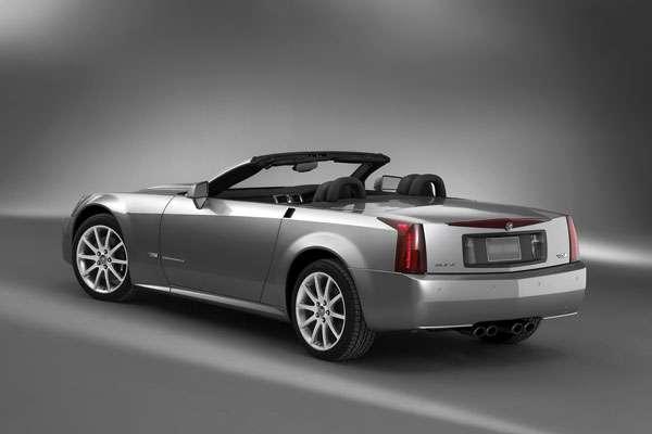 Cadillac XLR V фото