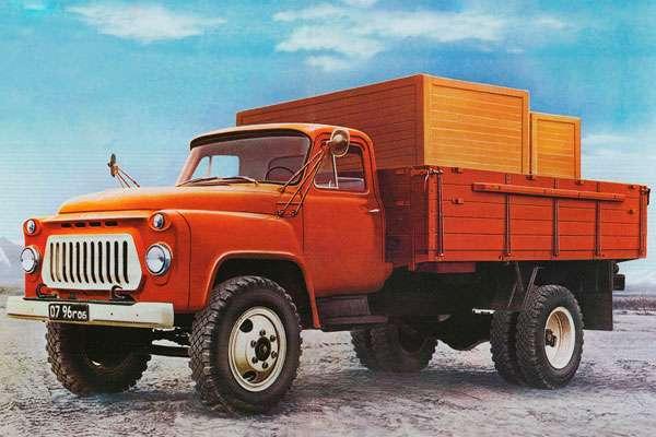 ГАЗ 53 бортовой