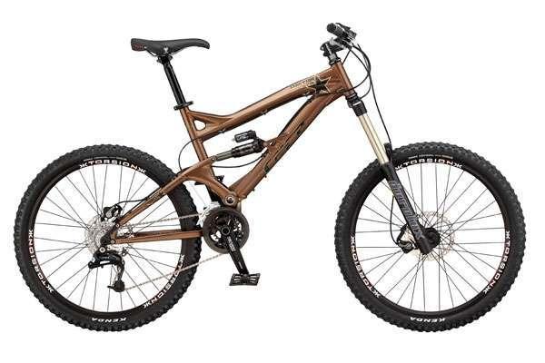 Горный велосипед двухподвесочный