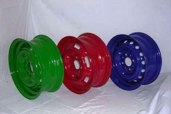 Полимерная покраска дисков