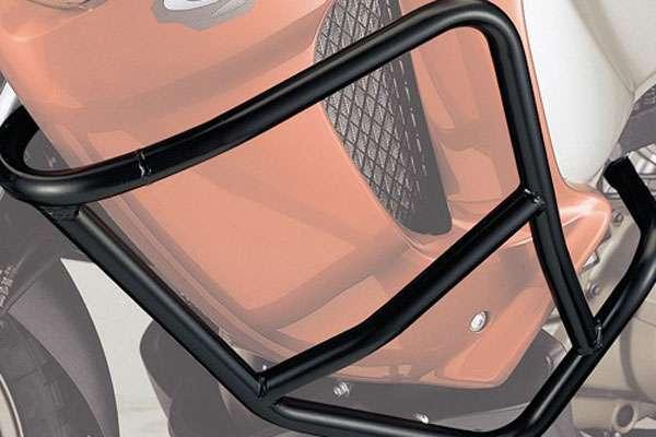Тюнинг Honda Varadero XL 1000 V установленные дополнительные дуги